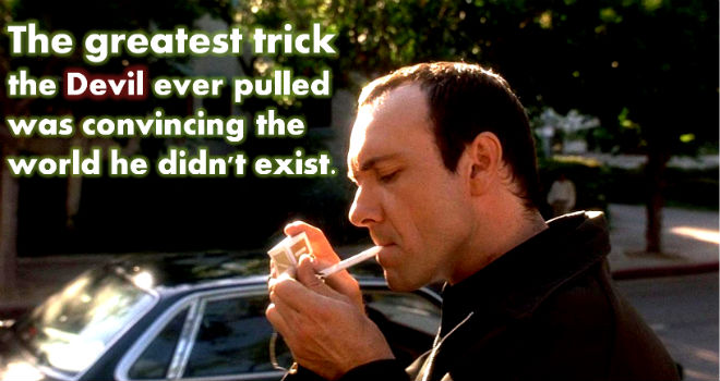 Image Quote on Devil's Trick by Keyser Soze, The Usual Suspects