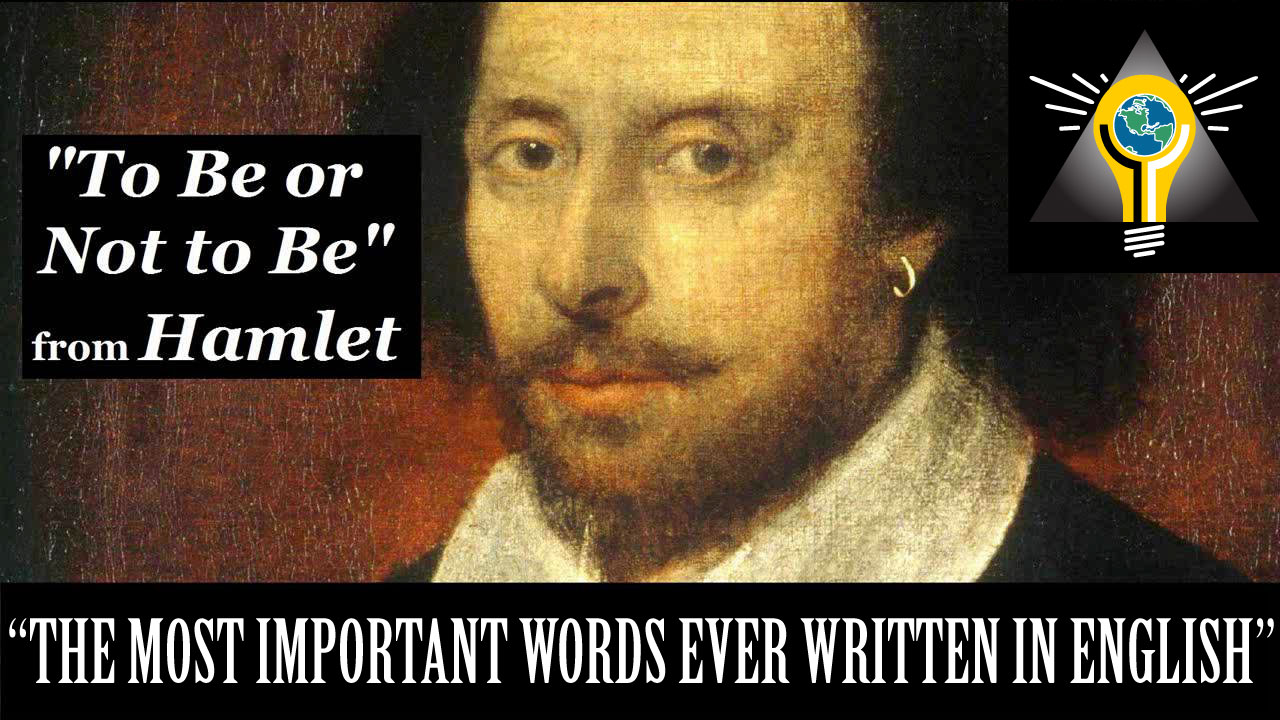 hamlet s to be or not to Hamlet is one of acting's most defining roles but how can anyone bring new meaning to the most familiar six words in literature, to be or not to be.