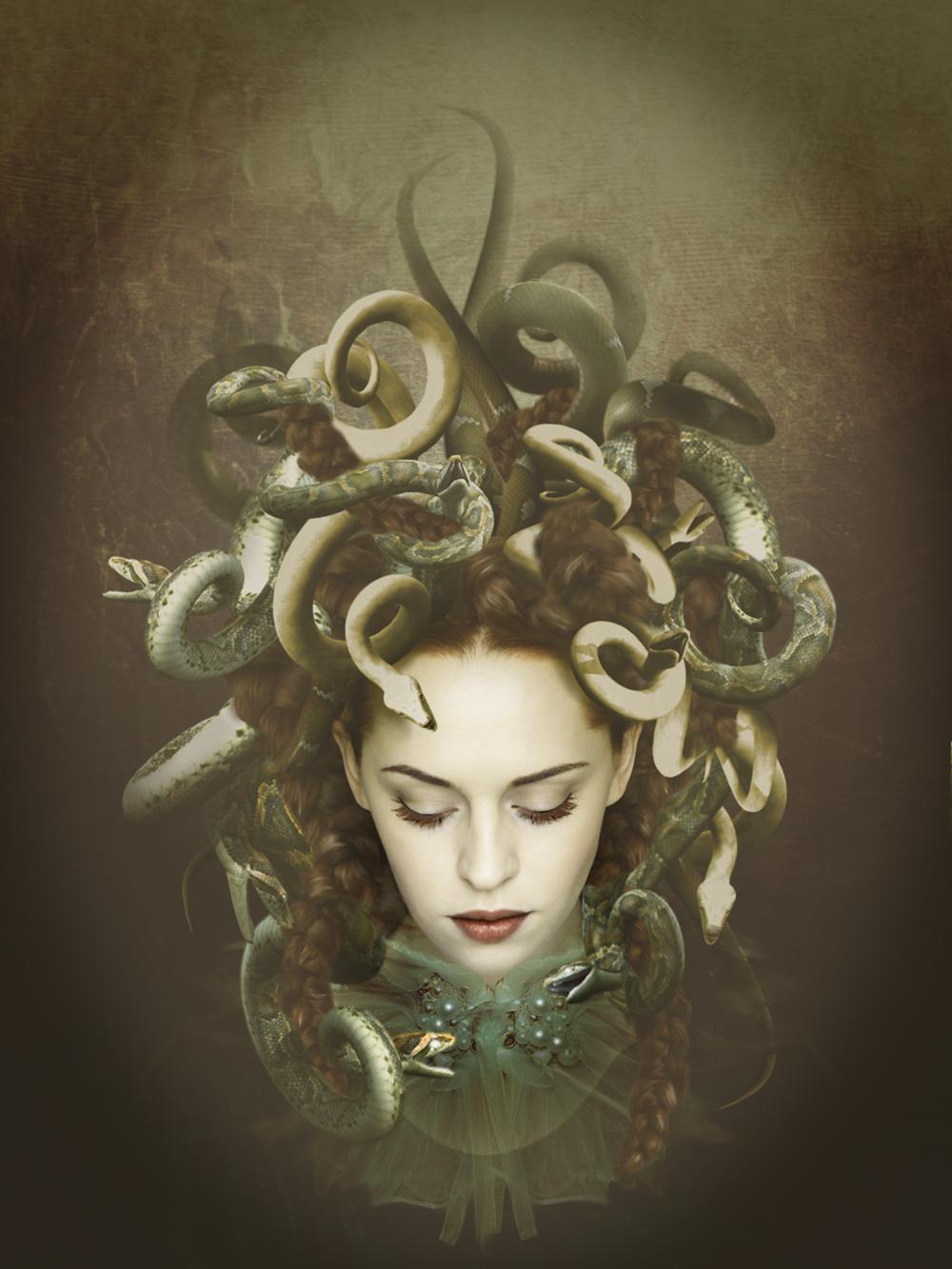 Image: Medusa ©2014-2019 imagase. Source: DeviantArt